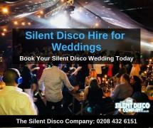 Silent Disco Hire for Weddings