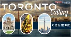 Book London to Toronto flights with us!