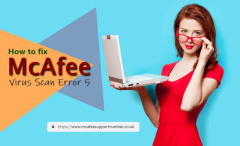 McAfee Virus Scan Error 5 | McAfee Antivirus Helpline Number