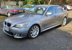 2005 BMW 5 Series 3.0 530d M Sport 4dr Auto +Parking Aid +Radio