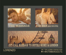 MASSAGE for MEN ★(GAY-BI-STR.) to your HOTEL / HOME in London