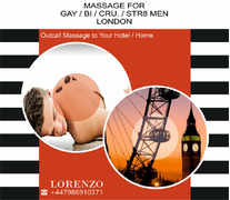 BEST MASSAGE for MEN (GAY-BI-STR.) to your HOTEL / HOME in London