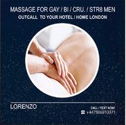 ★FULL BODY MASSAGE for MEN (gay-bi-str) by MALE MASSEUR OUT CALL