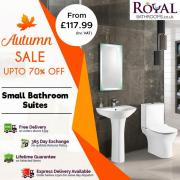 Get 70% off on Small Bathrooms