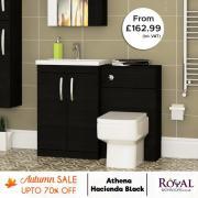 Hacienda Black Bathroom Furniture