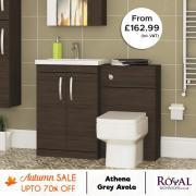 Bathroom Furniture Grey Avola