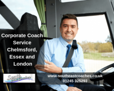 Corporate Coach Service Chelmsford, Essex and London - Call us 01245 325293