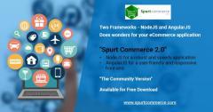 Nodejs & Angularjs ecommerce open source | Spurtcommerce