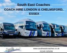 Coach Hire In London, Chelmsford and Essex | Call us