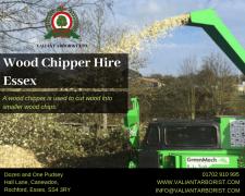 Wood Chipper Hire Rochford In Essex    Call Us
